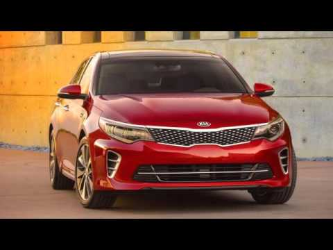 2017 Kia Optima Sxl Turbo 4dr Sedan 2 0l 4cyl