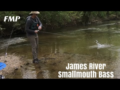 James River Small Mouth Bass Fishing