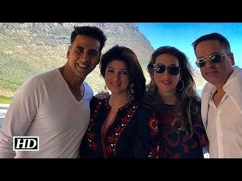 Akshay Kumar and Twinkle Khanna holiday in Cape Town  See pics
