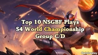 Top 10 NSGBF Plays - League Of Legends S4 World Championship Group C/D