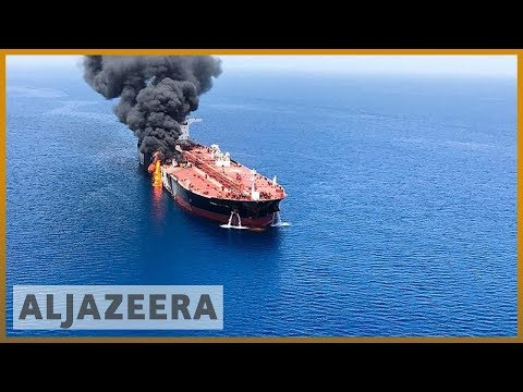 US releases video it claims show Iran removing mine from tanker