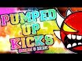 EXTREME DEMON PUMPED UP KICKS 100 COMPLETE By Quiken More Geometry Dash 2 11 Dorami mp3