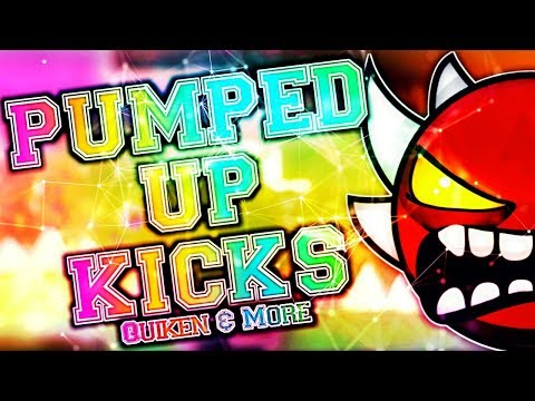 EXTREME DEMON PUMPED UP KICKS 100% COMPLETE By Quiken & More  Geometry Dash 211 Dorami