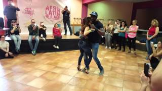 vuclip Ba Afrokizomba and Odeta. Sidiki Diabate. Kizomba impro after class in Slovenia Festival