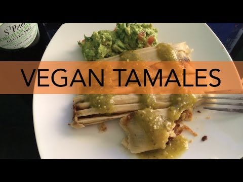 Vegan Tamales for ThanksLIVING