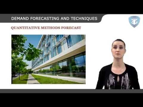 DEMAND FORECASTING AND TECHNIQUES