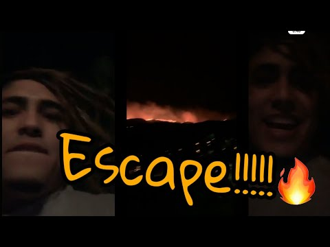 #Escape Lil #Pump From Burning The Forest (Story Instgram)