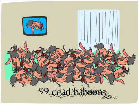 99 Red Balloons Parody - 99 Dead Baboons