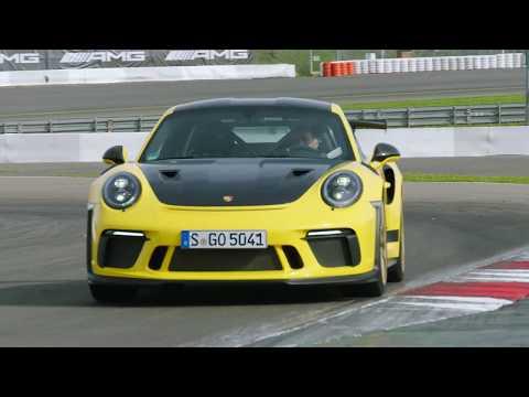 Porsche 911 GT3 RS  (2018) - Mark Webber in action