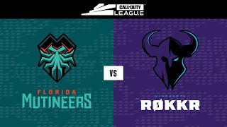 Knockout A | Florida Mutineers vs Minnesota Røkkr | Toronto Ultra Home Series | Day 2
