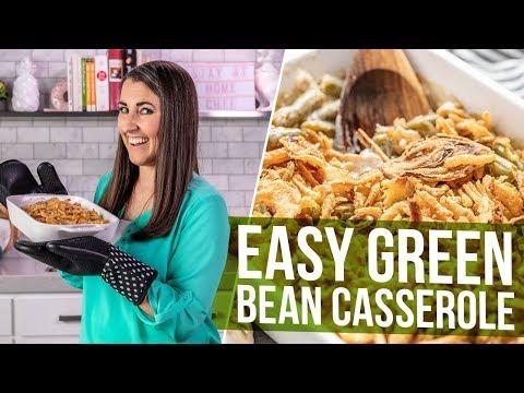 Easy Green Bean Casserole (No Cream Of Mushroom!)
