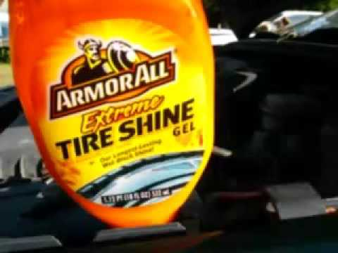 Armorall Extreme Tire Shine Gel Demo Review