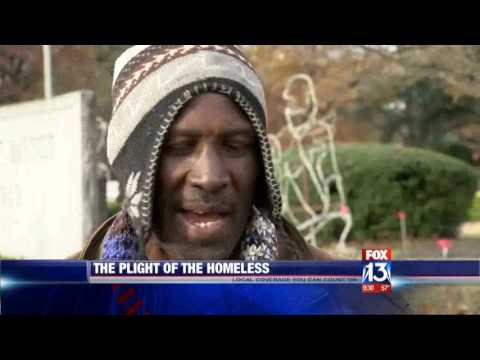 Homeless in Memphis: A day in the life