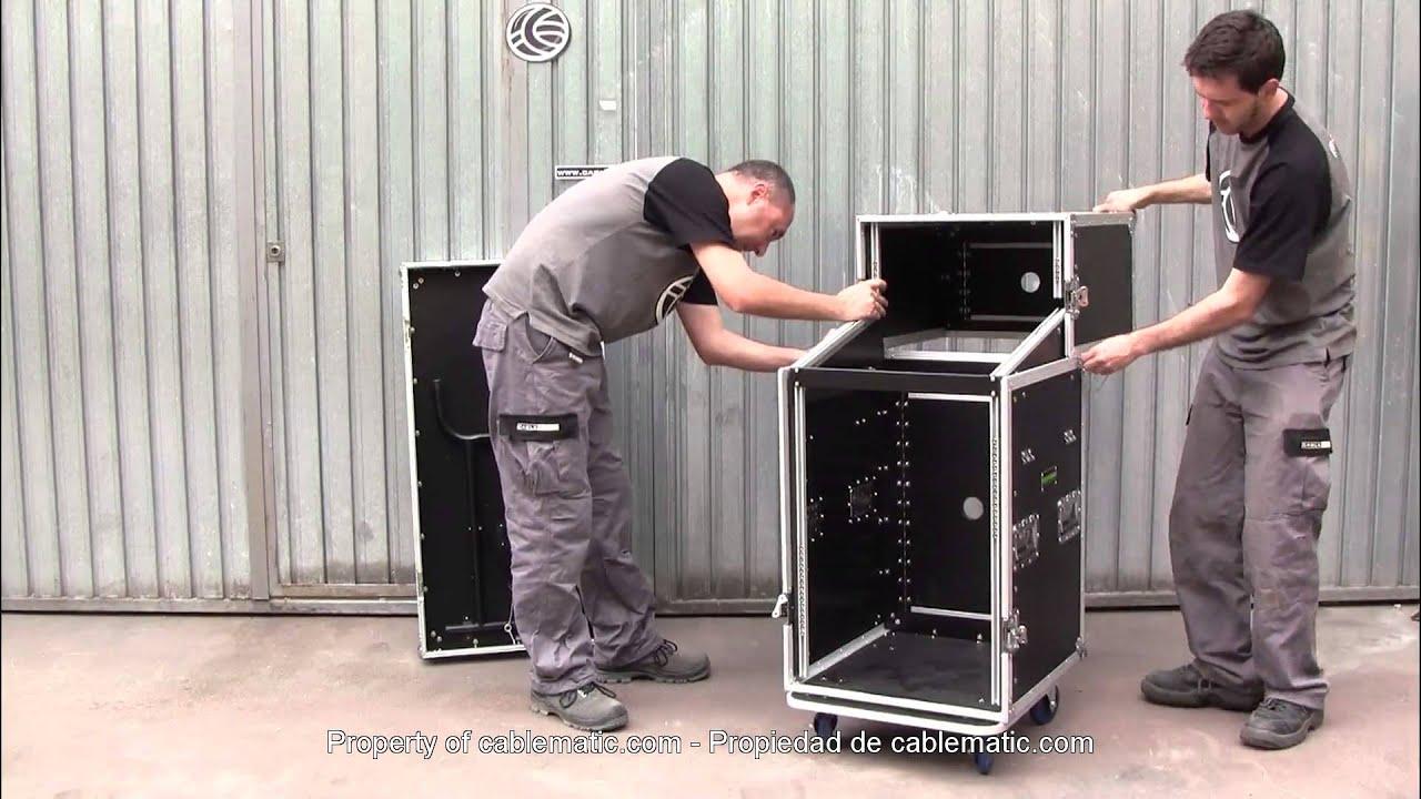 Mesa de control audiovisual rack 19 de dos m dulos for Programa mesa de mezclas