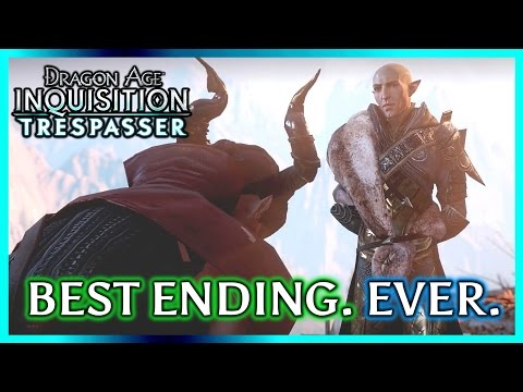 Dragon Age Inquisition: TRESPASSER ► Punching Solas Leads to the Best Ending. Ever.