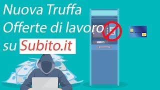 Truffa lavoro su Subito.it