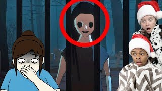 Reacting To TRUE STORY Scary Animations Part 23 ft My Girlfriend (DO NOT Watch At NIGHT)