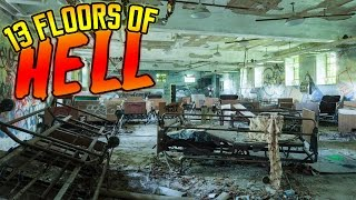 SNEAKING INTO AN ABANDONED INSANE ASYLUM (HAUNTED)
