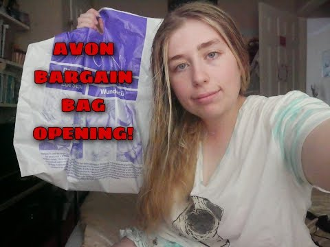 AVON BARGAIN BAG OPENING!