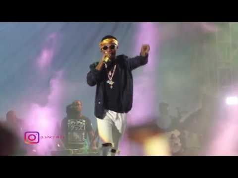 CHRIS BROWN, WIZ KID AND ALI KIBA FULL PERFORMANCE AT MOMBAS