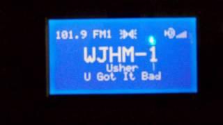 Florida FM DX WOCL, WJHM, & WDUV