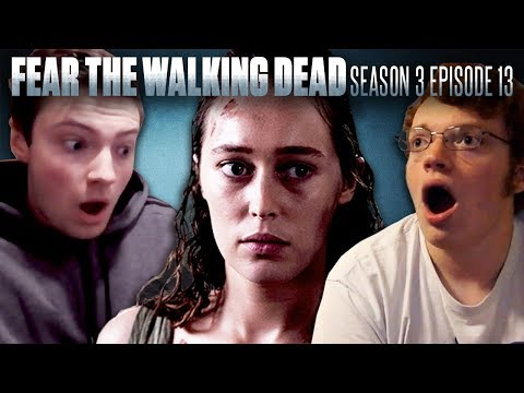 """Fear the Walking Dead, Season 3 Episode 13 """"This Land Is Your Land"""" - Fan Reaction Compilation!"""