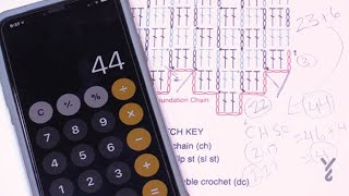 How To Figure Out Multiples from Existing Diagram | EASY | The Crochet Crowd