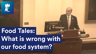 What is wrong with our food system? A talk by Prof Jose Graziano da Silva