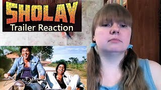 SHOLAY Trailer Reaction  |  Amitabh Bachchan  |  Dharmendra | Sanjeev Kumar | Hema Malini