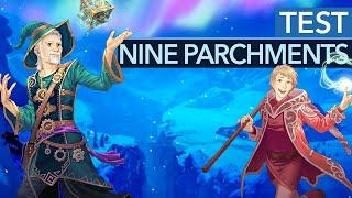 Nine Parchments im Test - Das neue Spiel der Trine-Macher