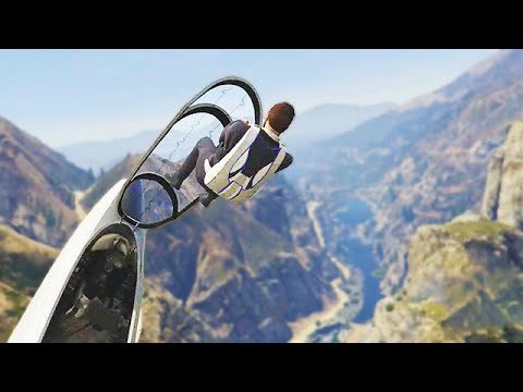 Ultimate Parachute Challenge (GTA 5 Funny Moments)