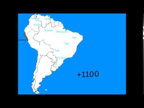 история южной америки