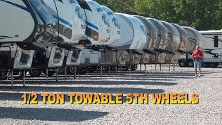 Half Ton Towable 5th Wheels