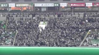2013/4/13 ソフトバンクホークスvs千葉ロッテ 1塁側5x列23xより撮影.