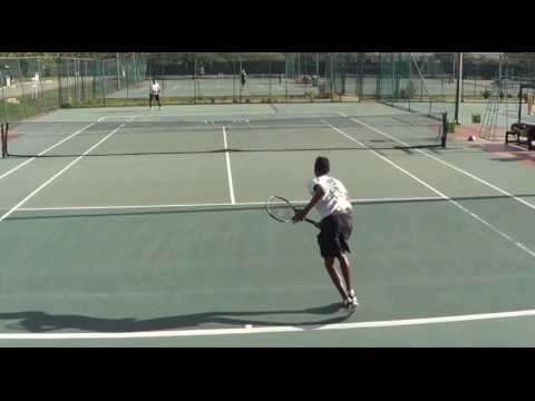 Peter Guevara Venezuela Recruiting Tennis Video