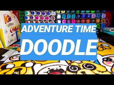 ADVENTURE TIME DOODLE / Doodle Art