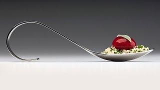 Molecular Gastronomy - Raspberry ravioles