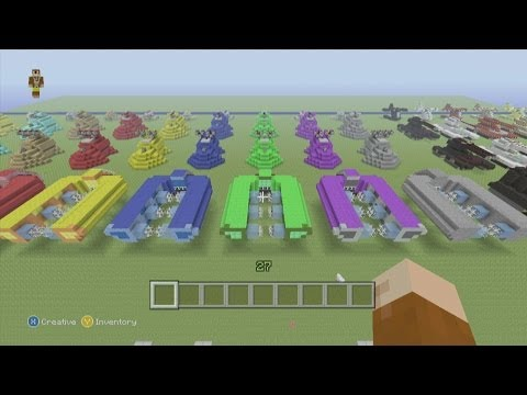 Minecraft Xbox 360 Edition: How To Build A Halo Covenant Spirit Dropship