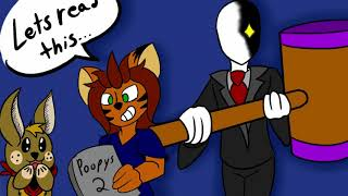 Storytime with Slenderman - Poopsy the Killer 2: Feat (jeff the killer)
