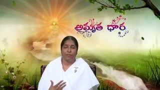 006 Influence of Thoughts - BK Shivaleela - Amruthadhara Telugu