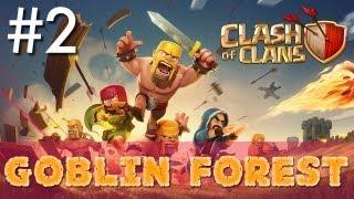 Clash of Clans - Minimalist Army Playthrough #2: Goblin Forest