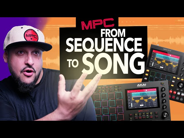 Making A Fire Loop into A FULL SONG on the MPC One/Live 2 (MPC Software Tutorial) | MPC X | MPC Live