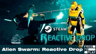 Alien Swarm: Reactive Drop (Free to Play) - My 1st Gameplay (Online Co-op) - PC HD [1080p]