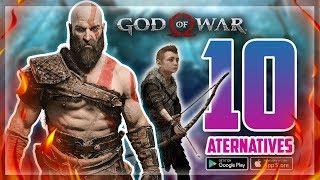 10 BEST😍 GOD OF WAR LIKE ANDROID/iOS GAMES 2018 | GOD OF WAR ALTERNATIVES ON MOBILE | NOOBTHEDUDE