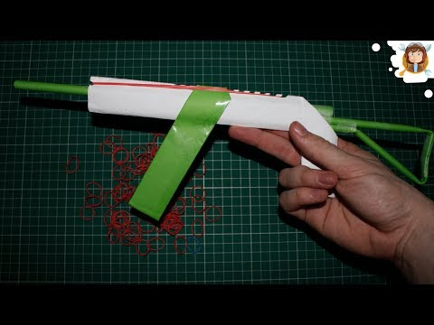 Make a Paper AK-47 Gun that Shoots 10...