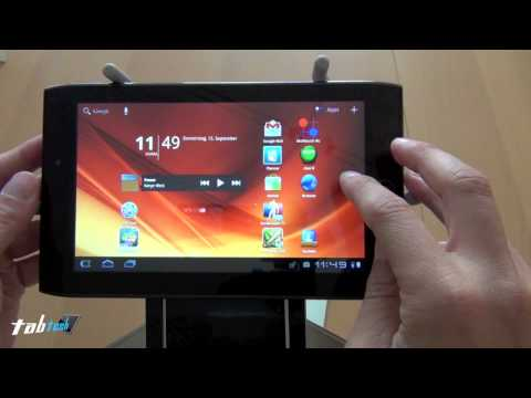Acer Iconia Tab A100 Test - Software (HD - Deutsch)