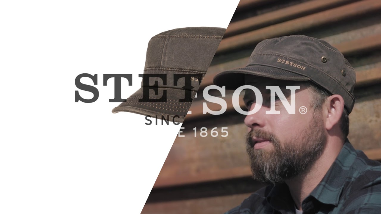 071e7ced1 Datto Armycap by Stetson || Hutshopping - YouTube