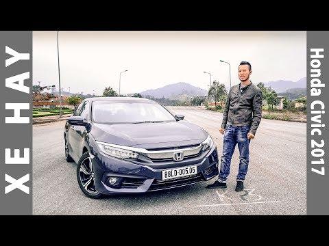 [XEHAY.VN] Đánh giá xe Honda Civic thế hệ mới 2017 tại Việt Nam |4k|