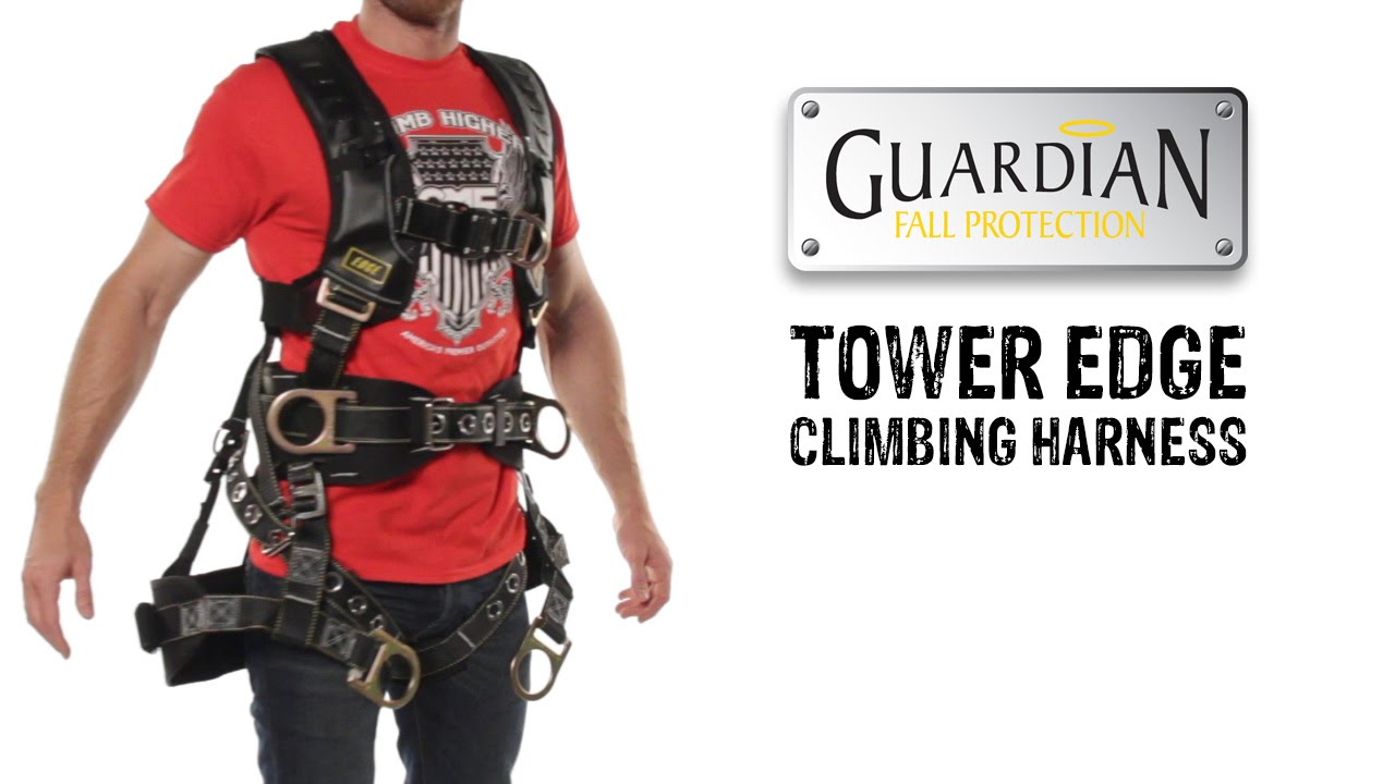 maxresdefault guardian fall protection tower edge harness gme supply youtube fall protection harness at arjmand.co