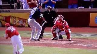Ben Zobrist Worst Third Strike Call To End Game Ever! Tampa Bay Rays VS Texas Rangers